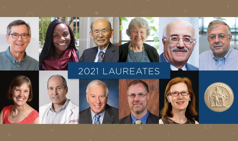 Introducing the 2021 Class of Franklin Institute Awards Laureates