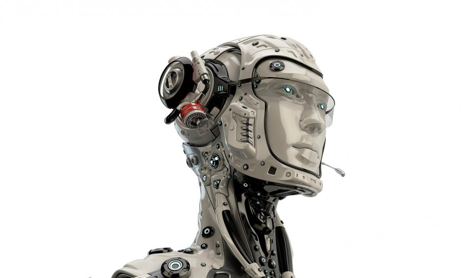 Illustration of a humanoid robot