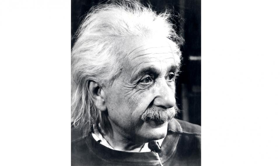 Albert Einstein Case File Headshot
