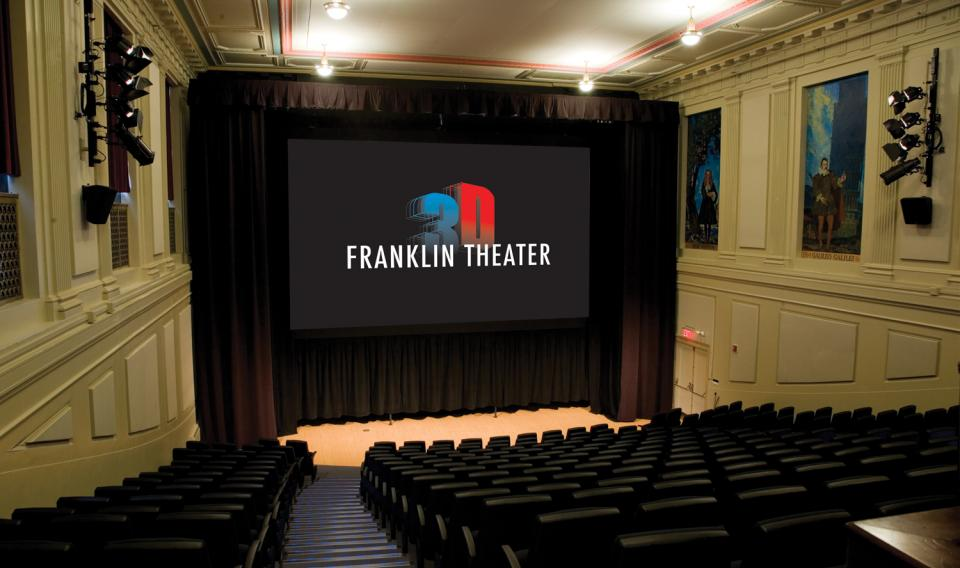 The Franklin 3D Theater at The Franklin Institute.