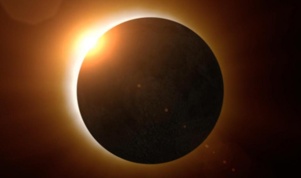 Solar Eclipse Animation