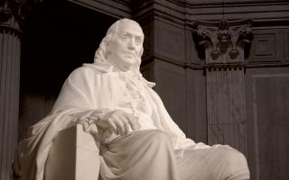 Benjamin Franklin Memorial Statue