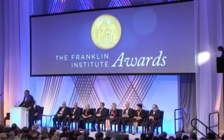 Still Image from the 2019 Franklin Institute Awards Ceremony Video