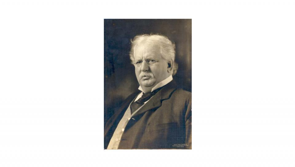 Photograph of Theodore Vail, taken by New York Photographer-of-Men Pirie Mac Donald