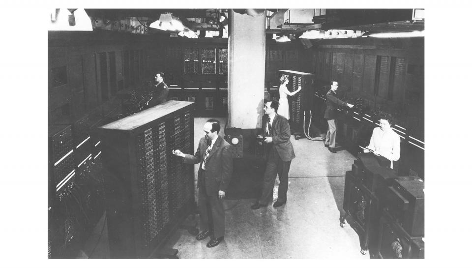 The men and women on the ENIAC design and programming teams worked tirelessly to make the machine a success.