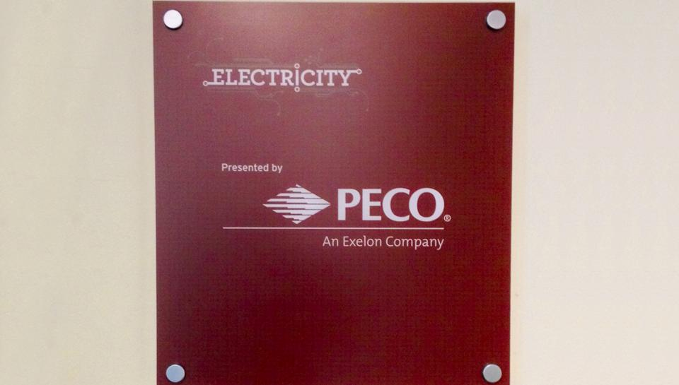 PECO, The Franklin Institute's Proud Corporate Partner, presents the Electricity exhibit.