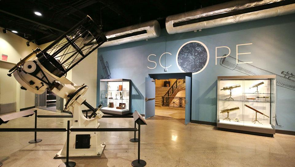 Telescope Gallery in the Space Command Exhibit