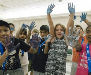 Discovery-Camp-Painted-Hands